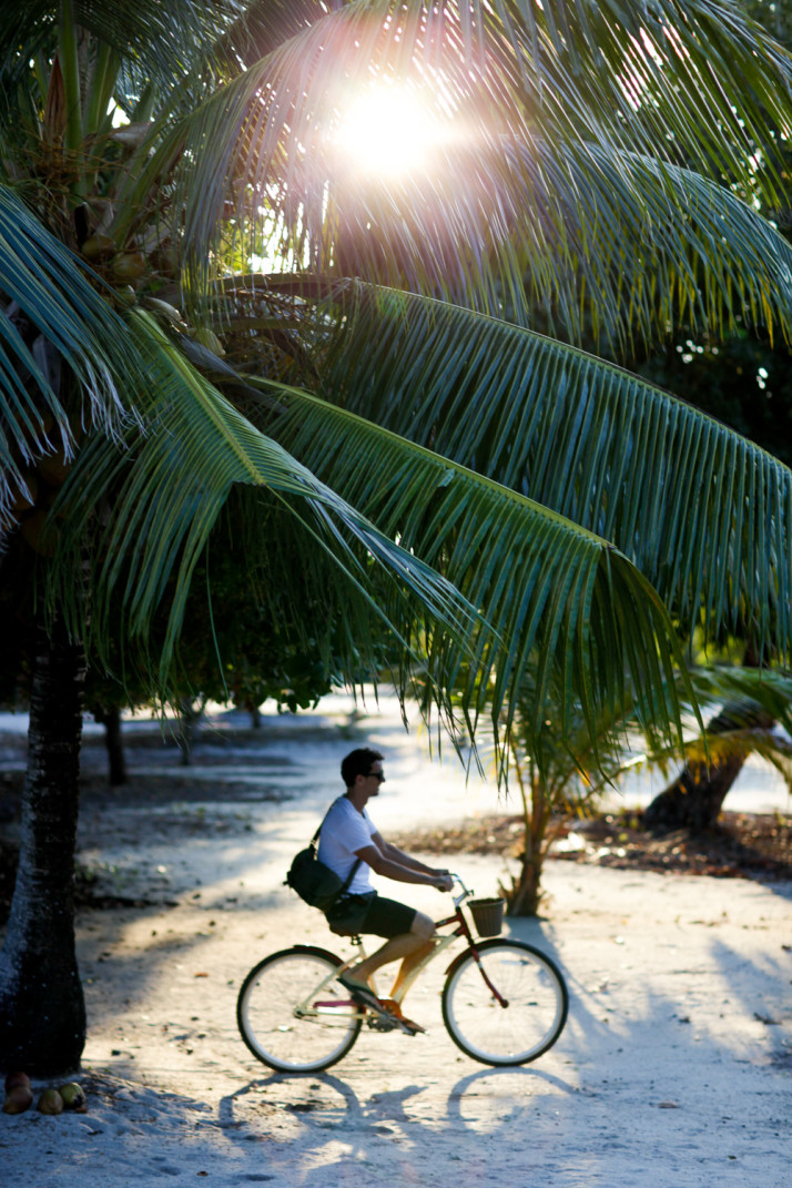 Bike Riding in Placencia, Belize